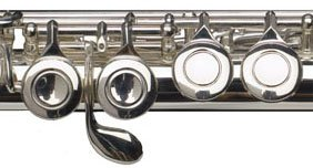 E mechanism and offset G at a VIENTO concert flute